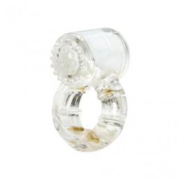 Ерекційне кільце з вібрацією Climax® Gems ™ Quartz Ring
