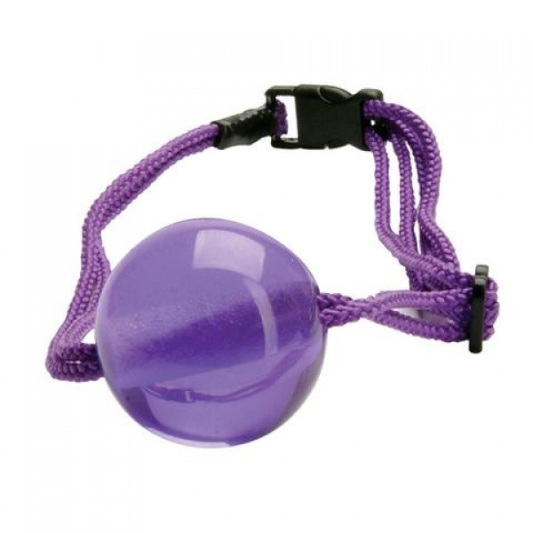 Кляп Japanese Silk Love Rope Ball Gag, Purple