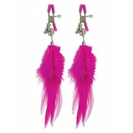 Зажимы для сосков Fancy Feather Nipple Clamps Fetish Fantasy