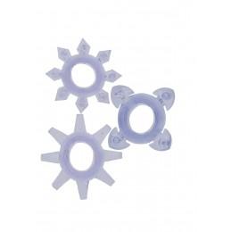 Эрекционные кольца Tickle C-rings Purple