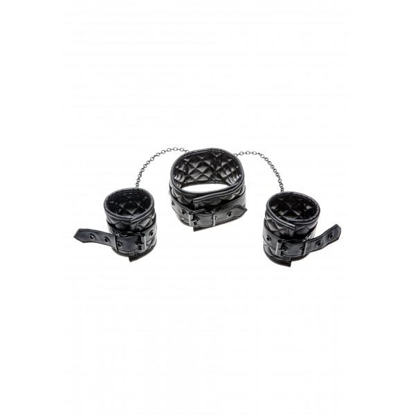 X-Play Collar & Wrist Cuffs - нашійнік з наручниками