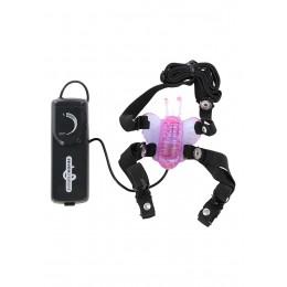Вібратор Seven Creations Butterfly Stimulator, 5х2 см