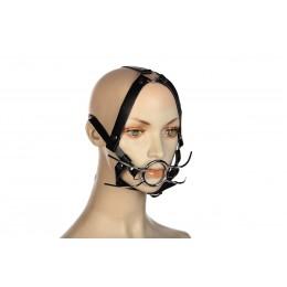 Кляп розширювач з кільцем і бандажем на голову