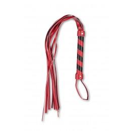Батіг багатохвостівка із червоно-чорною рукояттю