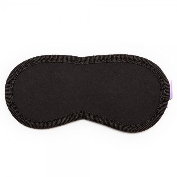 Пікантні Штучки м'яка маска на очі Purple & Black