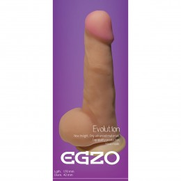 Фалоімітатор на присосці Egzo G1120 (17х4,2 см)