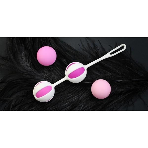 NEW! Кульки для Тренування інтимних м'язів Geisha Balls 2 - Gvibe (Англія)