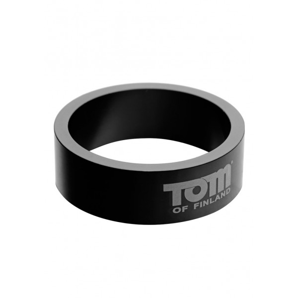 Tom of Finland 60mm Aluminum Cock Ring - ерекційне кільце