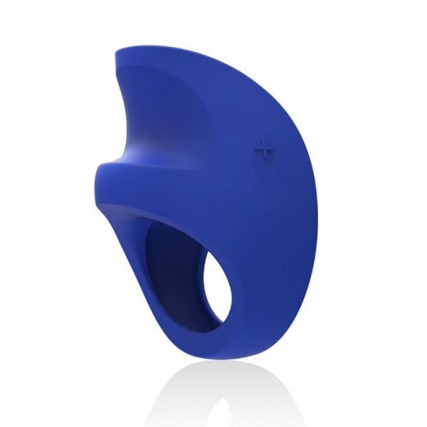 Виброкольцо LELO Pino Federal Blue, черный
