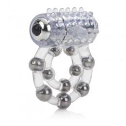 Виброкольцо с 10 шариками Maximus Ring 10 Stroker Beads
