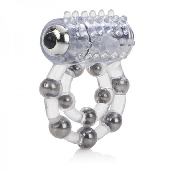 Віброкільце з 10 кульками Maximus Ring 10 Stroker Beads