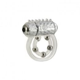 Виброкольцо с 5 шариками Maximus Ring 5 Stroker Beads