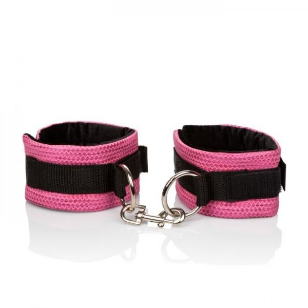 CalExotics Tickle Me Pink Universal Cuffs - універсальні дизайнерські наручники