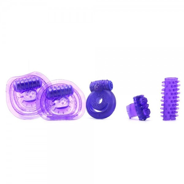 Набір секс-іграшок Climax Couples Kit Neon Purple