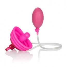 Вібропомпа для клітора Venus Butterfly Pump Pink, 4х2 см