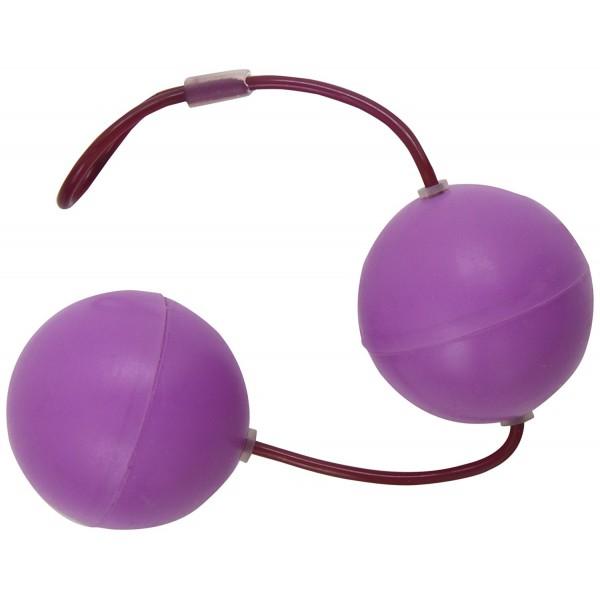 Вагінальні кульки Frisky Super Sized Silicone Benwa Kegel Balls, 4,5 см діаметр