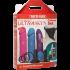 Набір страпонів Doc Johnson Dual Density Set Multicolor (multicolor)