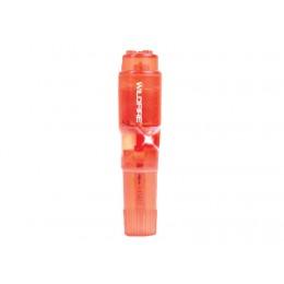 Вибратор Topco Sales Wildfire Rock-In Waterproof Massager, 10,16х2,54 см, красный