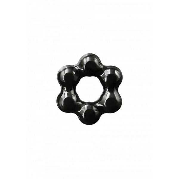 NS Novelties Renegade Spinner Ring - насадка на член, чорний