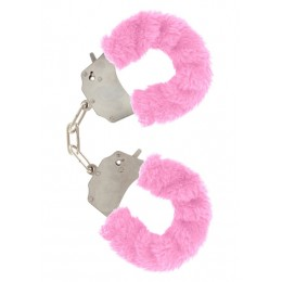 Наручники Furry Fun Cuffs, розовые