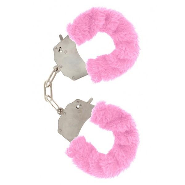 Наручники Furry Fun Cuffs, рожевий