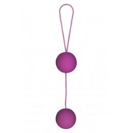 Вагинальные шарики Toy Joy Funky Love, 3,5 см, пурпурные