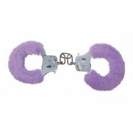 Наручники Furry Fun Cuffs, бузкові