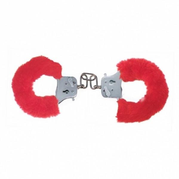 Наручники Furry Fun Cuffs, червоний