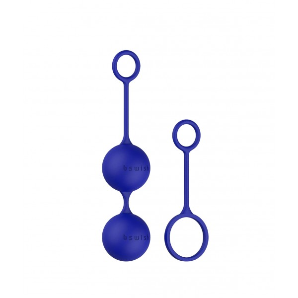 Вагінальні кульки B Swish bfit Classic Black, синій