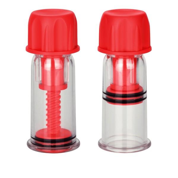 CalExotics COLT Nipple Pro-Suckers - помпа для сосків, червоний