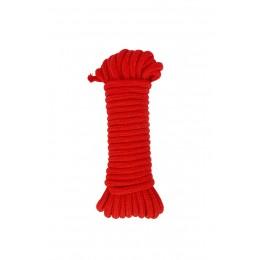 Веревка для фиксации, красная