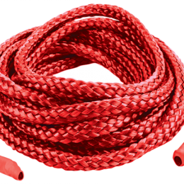 Мотузка для зв'язування 5м, Japanese Silk Love Rope, червона
