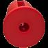 "Doc Johnson Kink Lube Luge Premium Silicone Plug 5 ""- Силіконова анальна пробка, 11,43х4,8 см, червоний"