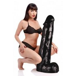 Величезний метровий фалоімітатор Master Cock Moby Huge 3 Foot Tall Super Dildo (90х20,6 см, чорний)