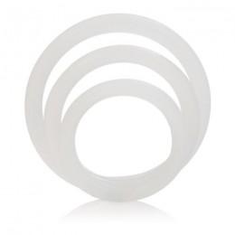 Ерекційні кільця Silicone Support Rings, білі