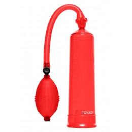 Помпа Pressure, 20Х5,5 см, червона