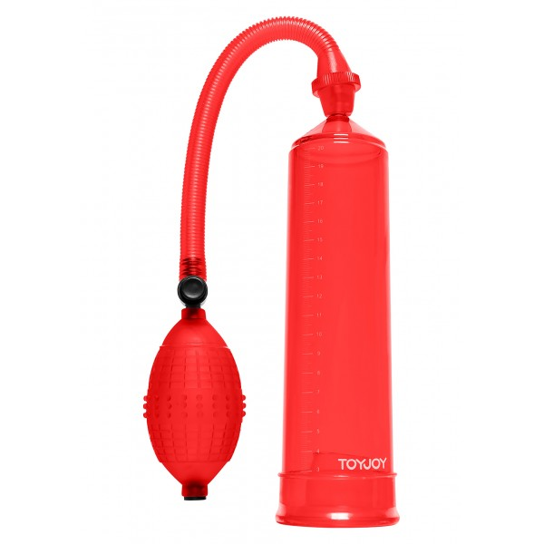 Помпа Pressure, 20Х5,5 см, червоний