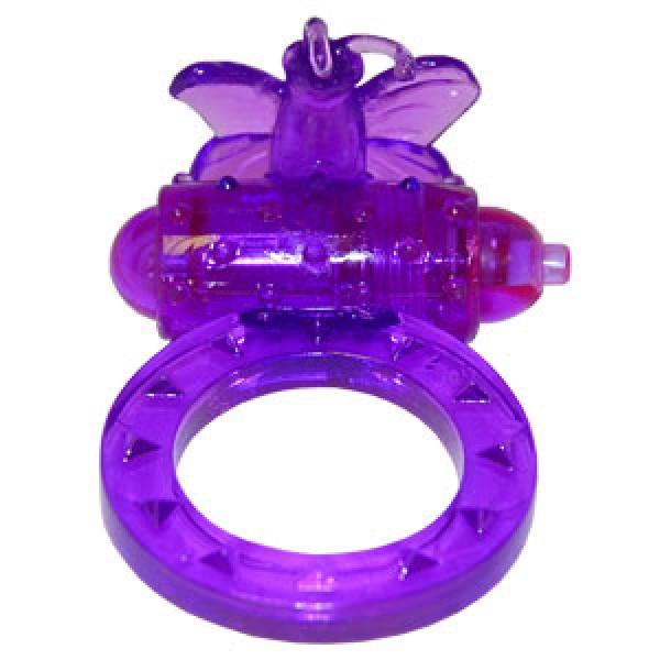 Вібро-насадка Flutter-ring, фіолетовий