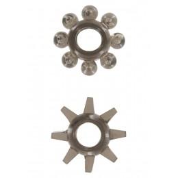 Эрекционные кольца Power Stretchy, 2 шт, черные