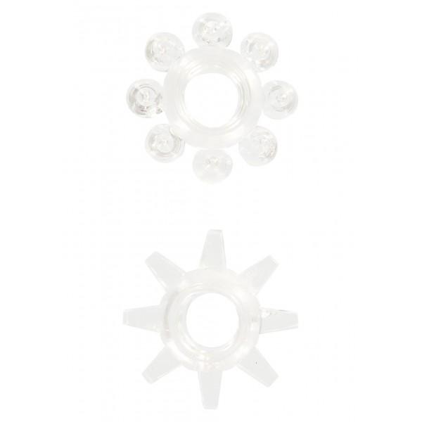 Ерекційні кільця Power Stretchy, 2 шт, білий